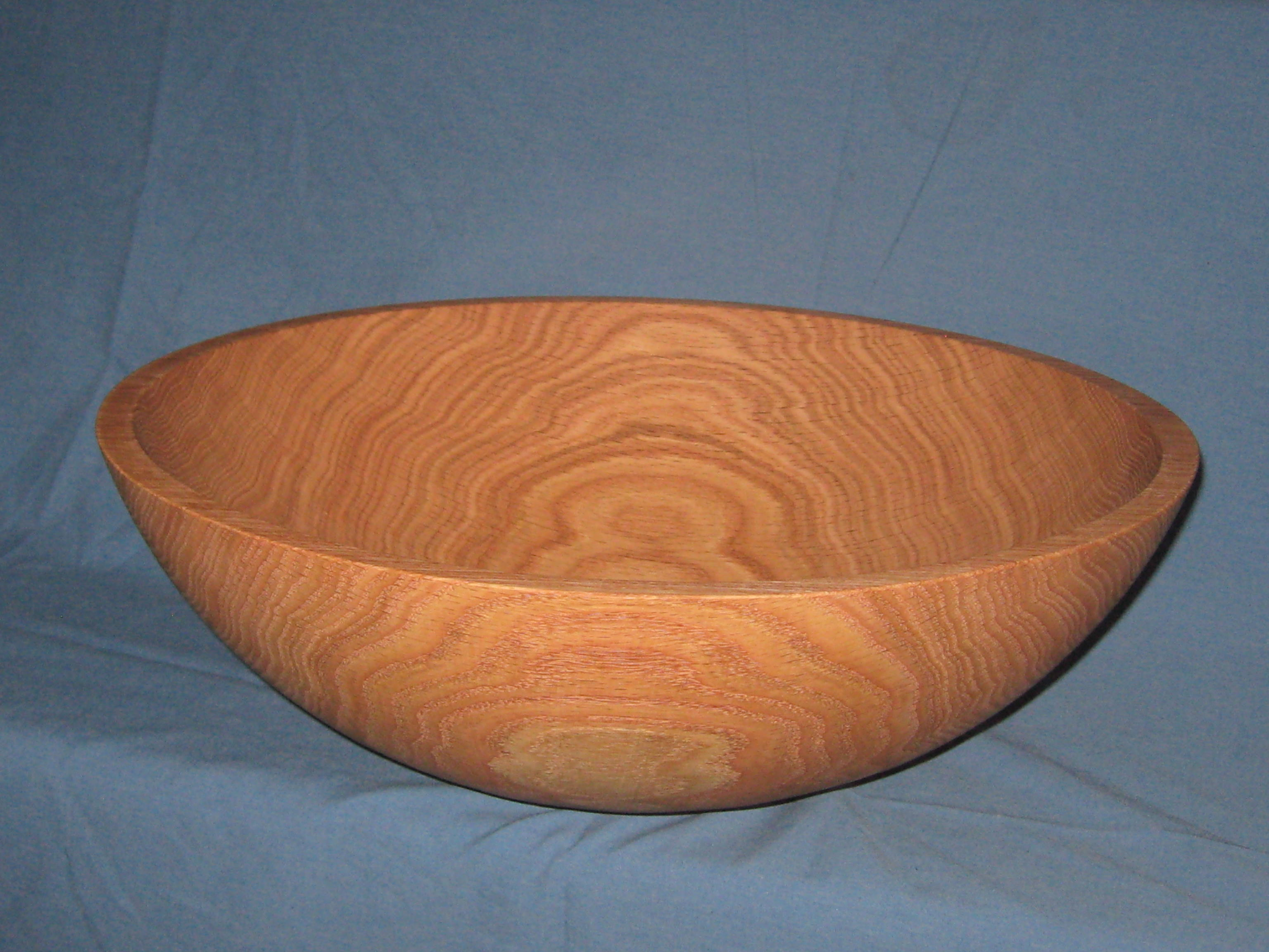 Wooden salad bowls red oak wood made in vermont