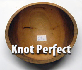 Knot Perfect Wood Bowl