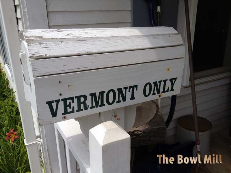 Vist our Bowl Mill Store in Vermont